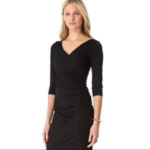 Diane von Furstenberg black Bentley dress